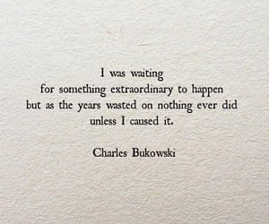 quotes, charles bukowski, and life image