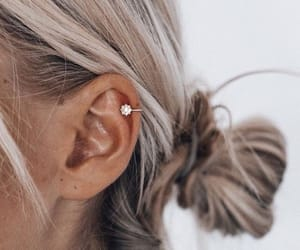accessories, hair, and earrings image