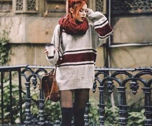 coffe, fall, and fashion blogger image