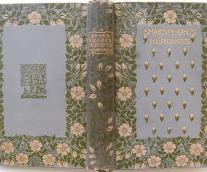 book, shakespeare, and floral image