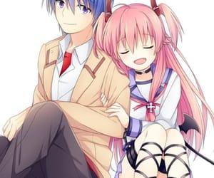 anime, hinata, and yui image