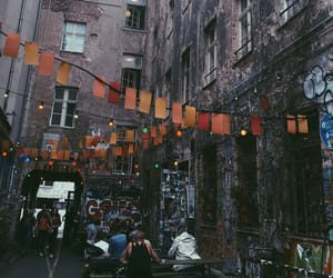 berlin, lights, and orange image