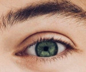 eye, green, and Harry Styles image