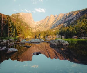 colorado, lake, and landscape image