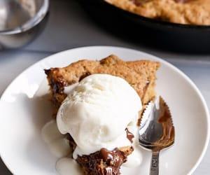chocolate, food, and ice cream image