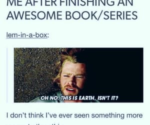 book, funny, and series image