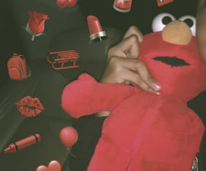 aesthetic, doll, and elmo image