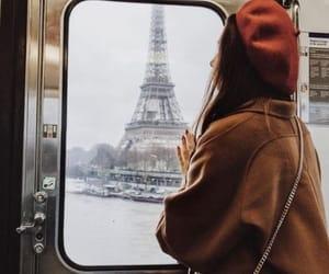 fashion, paris, and eiffel tower image