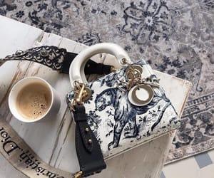 bag, coffee, and dior image