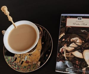 chocolate, drink, and tea image