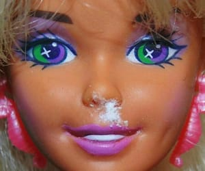barbie, childhood, and cocaine image