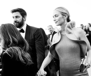 chic, Emily Blunt, and holding hands image