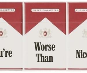 Nicotine, cigarette, and grunge image