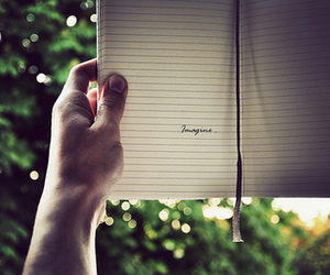 imagination, journal, and text image