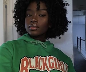 africa, black, and girl image