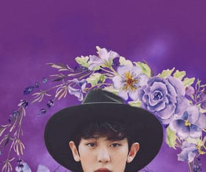 exo, flowers, and wallpapers image