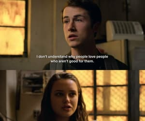 13 reasons why, quotes, and tv show image
