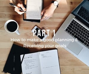 article, goals, and planning image