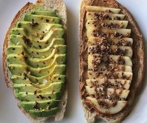 avocado, healthy, and toast image