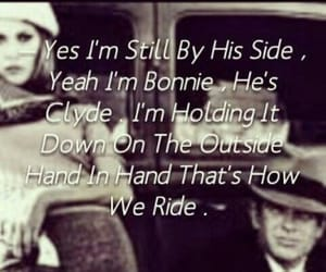Bonnie & Clyde, quote, and lové image