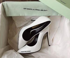 off-white white heels image