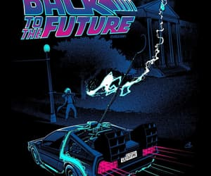 Back to the Future, delorean, and movie image