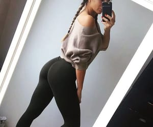 booty, bum, and motivation image