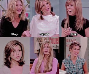 friends, hair, and rachel green image