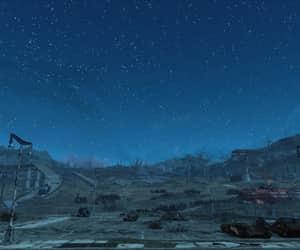 fallout, parking lot, and wasteland image