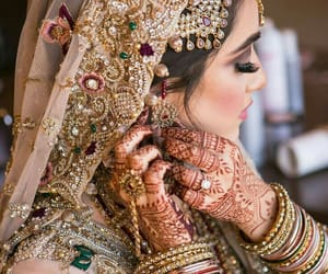 bride, pakistani, and indian image