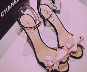 chanel, inspiration, and high heel shoes image