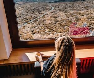 coffee, view, and teide image