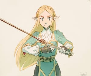 fanart, botw, and breath of the wild image