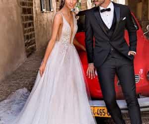 couple, elegant, and glamour image