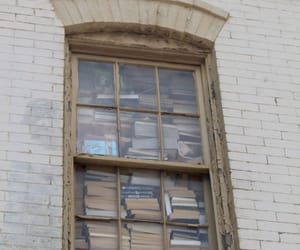 book, aesthetic, and window image