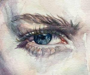 aesthetic, essence, and eye image