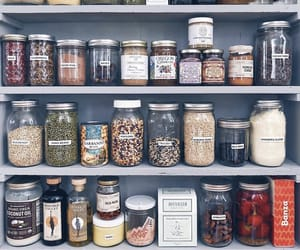 healthy, kitchen, and organization image