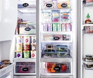 fridge, FRUiTS, and ice cream image