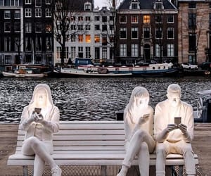 amsterdam, background, and bench image