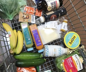 grocery, grocery shopping, and veggies image