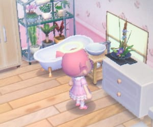 animal crossing, bathroom, and house image