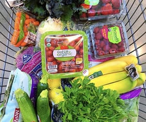 bananas, whole foods, and grocery image