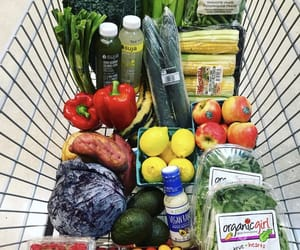 grocery, organic, and grocery shopping image