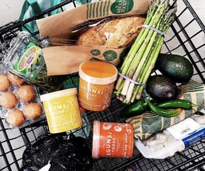 avocado, grocery, and cart image