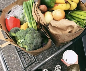 cart, whole foods, and FRUiTS image