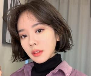 asian girl, girl, and haircut image