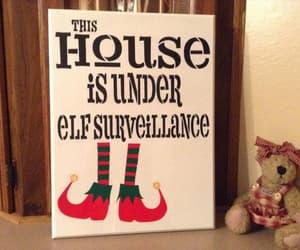 etsy, holidaydecor, and christmas decoration image