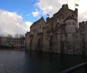 bruxelles, castle, and Gent image