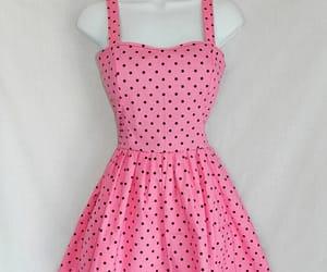 cute dress, emo, and polka dots image