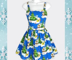 christmas, cute dress, and nerd image